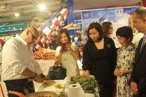 Nông sản Pháp tìm đường vào hệ thống bán lẻ Việt Nam