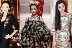 Chương Tử Di và dàn sao gốc Hoa tẩy chay Dolce&Gabbana