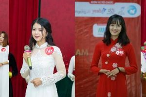 Cộng đồng mạng đua nhau bình chọn thí sinh xuất sắc nhất tại Hoa khôi Sinh viên Việt Nam 2018
