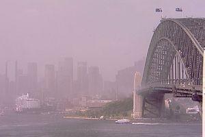 Bão cát hoành hành tại Sydney, nhiều người nhập viện vì vấn đề hô hấp