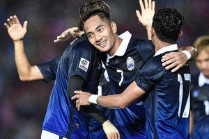 Tuyển Campuchia - đối thủ cuối cùng tại vòng bảng của Việt Nam