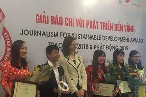Trên 500 tác phẩm tham dự giải báo chí với phát triển bền vững năm 2018