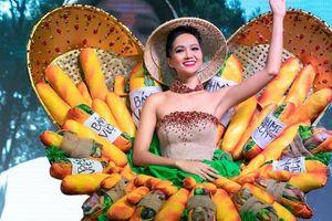 H'Hen Niê mang trang phục 'Bánh mì' gây tranh cãi thi Miss Universe