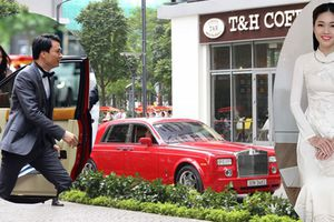 Chồng đại gia hơn Á hậu Thanh Tú 16 tuổi, đi Rolls-Royce, thế lực cỡ nào?