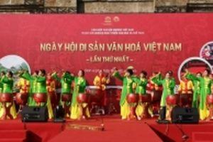 Đặc sắc hoạt động trong Ngày hội di sản văn hóa Việt Nam lần thứ nhất