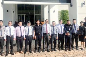 Đoàn công tác CATP Đà Nẵng thăm và làm việc với Trung tâm điều phối Sông Mê Kông an toàn