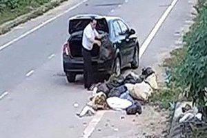 Xã hội hóa phạt người xả rác