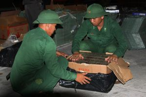 Thu giữ 15.000 gói thuốc lá ngoại nhập lậu