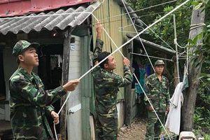 BĐBP TP Hồ Chí Minh tích cực chuẩn bị ứng phó với bão số 9
