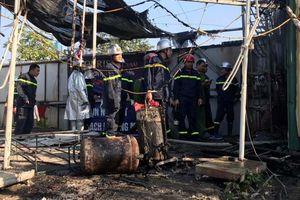 Cháy lớn tại khu nhà tạm của công nhân, nhiều vật dụng bị thiêu rụi
