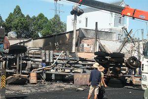Thảm nạn xe bồn ở Bình Phước: Tiếng la hét tắt dần trong nhà rực lửa