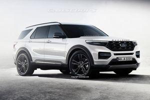 Ford Explorer 2020 lộ diện: Thiết kế chỉ thay đổi nhẹ