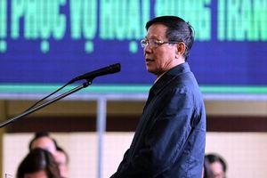 Bị cáo Phan Văn Vĩnh nhận tội và mong được hưởng chính sách khoan hồng
