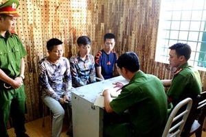 Bắt nhóm đối tượng từ Hà Nội vào Đắk Nông cho vay nặng lãi