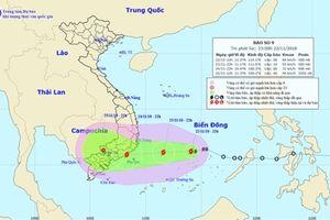 Bộ trưởng Bộ GD-ĐT có công điện khẩn về ứng phó với bão số 9