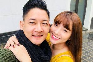 Thành Đạt chúc mừng sinh nhật bà xã Hải Băng đang mang bầu lần 3
