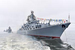 Dàn tàu chiến Hạm đội Thái Bình Dương của Nga tới Biển Đông làm gì?