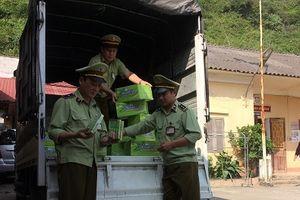 Nhập lậu lượng lớn kẹo cao su từ Trung Quốc về Việt Nam tiêu thụ