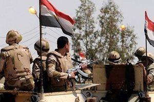 Ai Cập tiêu diệt 12 phần tử khủng bố sau cuộc đọ súng ở Bắc Sinai
