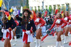 8.000 người tham gia cuộc diễu hành Lễ Tạ ơn Macy's tại Mỹ