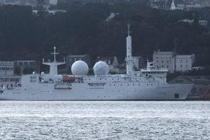 Tàu do thám Pháp xuất hiện gần Syria