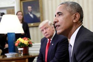 Trump và Obama trái ngược trong dịp lễ Tạ ơn