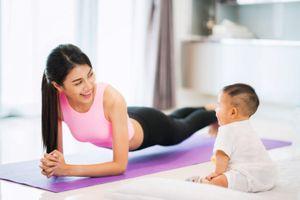 Cách giảm mỡ bụng hiệu quả cho phụ nữ sau sinh