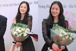 Kim Tae Hee cười rạng rỡ và thân thiện 'đốn tim' fans Việt