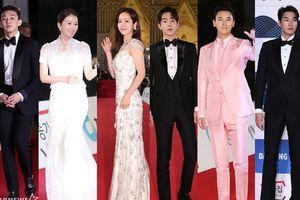 Thảm đỏ 'Giải Rồng Xanh 2018': Han Ji Min tỏa sáng cùng Nam Joo Hyuk, Joo Ji Hoon và Yoo Ah In