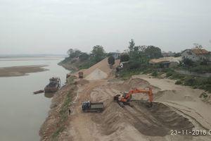 Công ty TNHH Nam Trung Hà ngang nhiên lấp sông, kinh doanh trái phép?