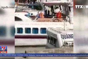 Cháy tàu du lịch Quang Minh 68 ở Vân Đồn, Quảng Ninh
