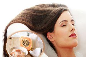 Phục hồi mái tóc hư tổn nhanh gọn và tiết kiệm với mặt nạ đu đủ