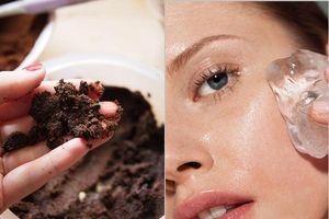 Học phụ nữ Nga cách làm đẹp từ bột cà phê và đá lạnh, làn da sẽ luôn căng mướt, hoàn hảo trong suốt mùa đông