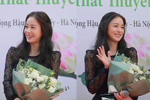 Mẹ một con Kim Tae Hee bất ngờ xuất hiện chớp nhoáng ở Việt Nam, nhan sắc gây thương nhớ