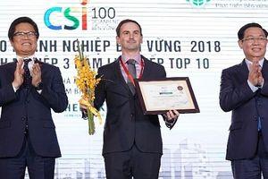 Heineken được vinh danh là doanh nghiệp bền vững nhất Việt Nam
