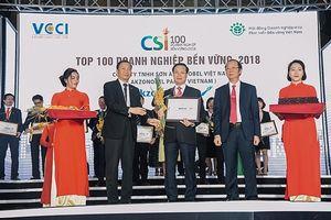 AkzoNobel Việt Nam năm thứ 2 liên tiếp được vinh danh Top 100 doanh nghiệp bền vững