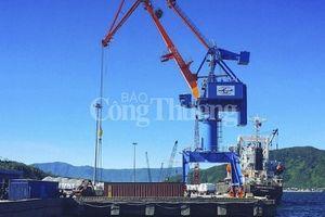 Hàng hóa qua cảng Vũng Áng ước đạt 2,7 triệu tấn trong năm 2018