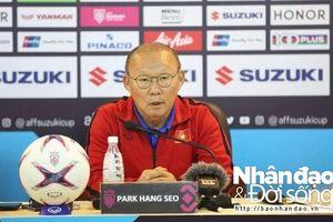 HLV Park Hang Seo: 'ĐT Việt Nam còn mục tiêu phải thắng trước Campuchia'