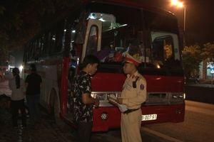 Công an Ninh Bình ra quân kiểm tra, xử lý vi phạm quy định về trật tự an toàn giao thông