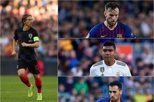 La Liga thống trị BXH 10 tiền vệ xuất sắc nhất thế giới năm 2018
