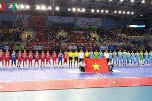 Hơn 3.000 khán giả dự Lễ khai mạc giải Futsal HDBank Cúp Quốc gia 2018