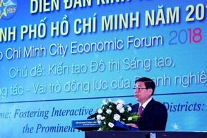Chủ tịch TP.HCM: Thành phố cam kết làm hết sức để doanh nghiệp trở thành động lực của đô thị sáng tạo