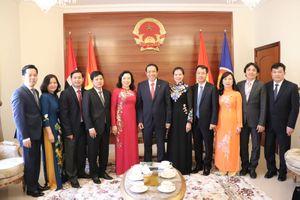 UAE là đầu mối quan trọng trong quá trình triển khai các hoạt động kinh tế đối ngoại của Hà Nội