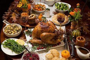 Ngoài gà tây, thực đơn ngày Lễ Tạ ơn gồm những món gì