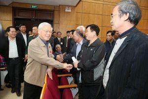 Cử tri Hà Nội mong Tổng Bí thư - Chủ tịch nước tiếp tục đẩy mạnh chống tham nhũng