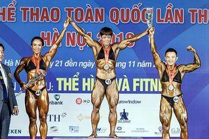 Đoàn TP.HCM nhất môn thể hình và fitness Đại hội thể thao toàn quốc 2018