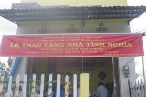 Đồng Tháp: Trên 180 căn nhà chính sách được xây mới và sửa chữa
