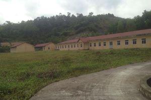Vụ xây cơ sở cai nghiện trăm tỷ để... ngắm: Ý kiến của Sở LĐTBXH Lạng Sơn