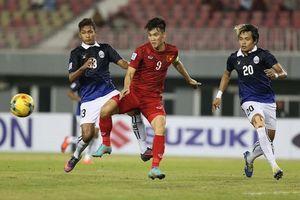 Tuyển Việt Nam 'vùi dập' Campuchia số bàn thắng không tưởng tại AFF Cup