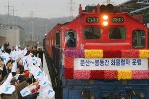 Không trừng phạt đường sắt liên Triều: Thắng lợi của Bình Nhưỡng
